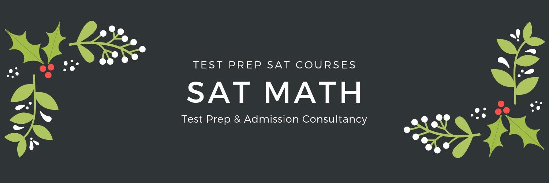 sat reasoning math test prep courses